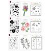Altenew Love & Friendship Coordinating Stamp & Die & Coloring Stencil Release Bundle