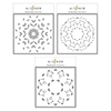 Altenew Mandala Builder Stencil Set (3 In 1)