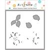Altenew Queen Anemone Simple Coloring Stencil