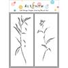 Altenew Tall Foliage Simple Coloring Stencil Set
