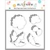 Altenew Book Engravings Simple Coloring Stencil