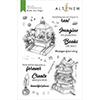 Altenew Books Are Magic Stamp Set