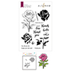 Altenew Fairy Tale Rose Stamp & Die & Coloring Stencil Bundle