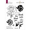 Altenew Fairy Tale Rose Stamp Set