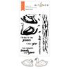 Altenew Modern Swans Stamp & Die Bundle