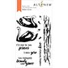 Altenew Modern Swans Stamp Set