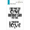 Altenew One Card Stamp Set