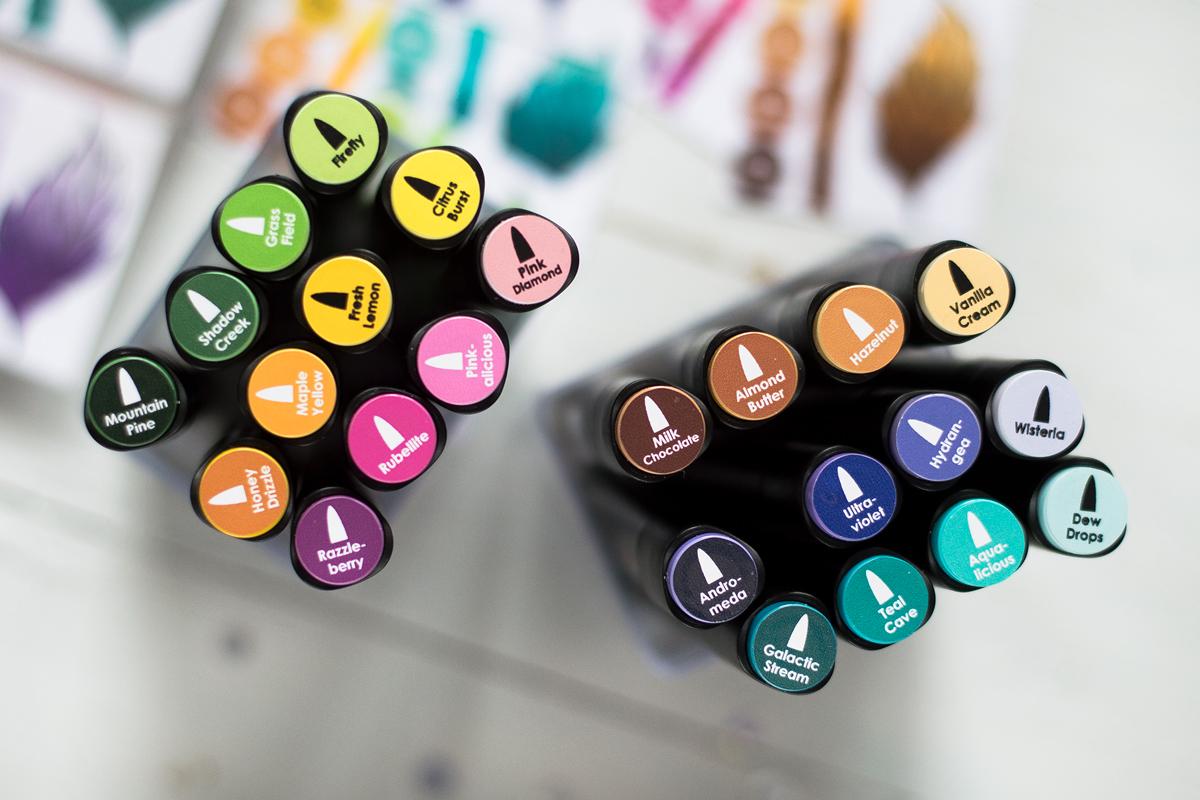 Artist Markers Organization. Project by Svitlana Shayevich