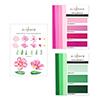 Altenew Craft-A-Flower: Cistus Layering Die Set & Gradient Cardstock Bundle