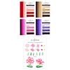 Altenew Craft-A-Flower: Cosmos Layering Die Set & Modern Colors Gradient Cardstock Bundle