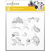 Altenew Scalloped Ornaments Simple Coloring Stencil Set (2 In 1)