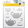 Altenew Tea For Two Simple Coloring Stencil