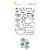 Altenew Tea For Two Stamp & Die Bundle