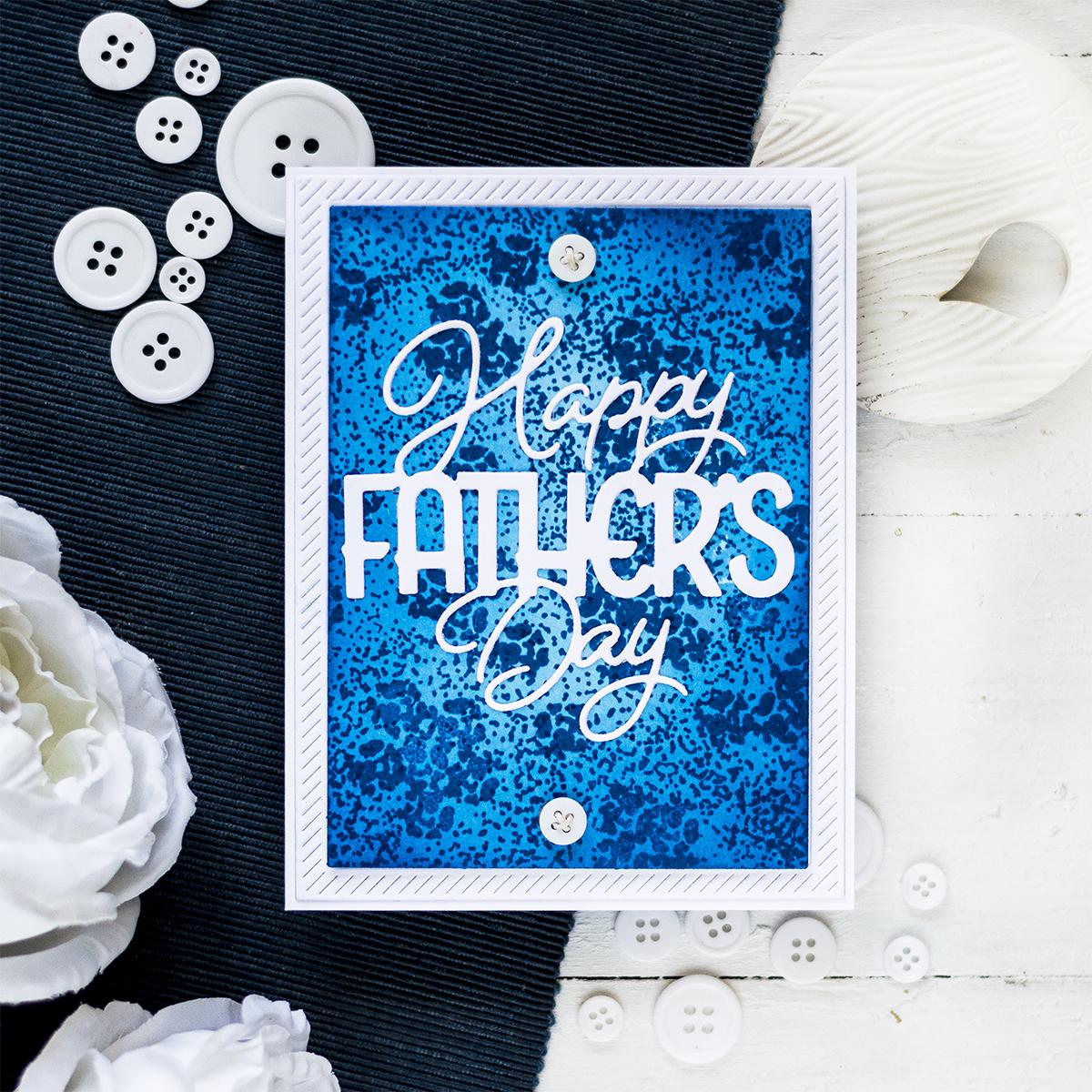 Bold Father's Day Card. Card by Svitlana Shayevich