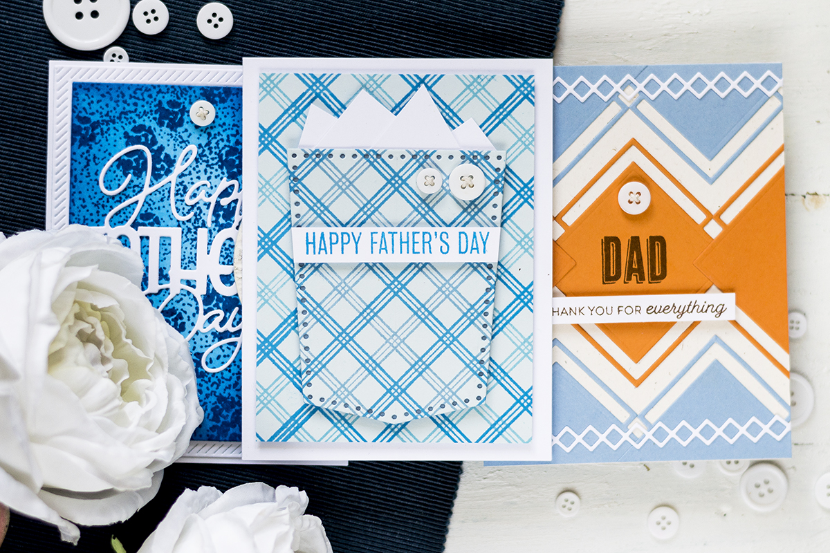 Three Father's Day Cards. Card by Svitlana Shayevich