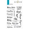 Altenew Carpe Diem Stamp Set