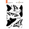 Altenew Dovetail Butterflies Stamp Set