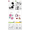 Altenew Eclectic Vibes Coordinating Stamp & Die & Stencil Release Bundle