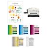Altenew Floral Dazzle Glitter Gradient Cardstock & Die Cutting Bundle