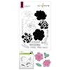 Altenew Gardenia Duo Stamp & Die & Mask Stencil Bundle