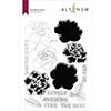 Altenew Gardenia Duo Stamp Set