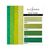 Altenew Glitter Gradient Cardstock Set - Forest Canopy (4 Colors, 16 Sheets)