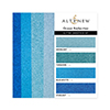 Altenew Glitter Gradient Cardstock Set - Ocean Reflection (4 Colors, 16 Sheets)