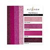 Altenew Glitter Gradient Cardstock Set - Pink Brilliance (4 Colors, 16 Sheets)