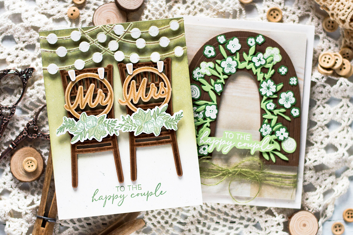 Rustic Wedding Cards. Card by Svitlana Shayevich