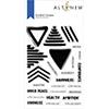 Altenew Doodled Triangles Stamp Set