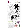 Altenew Inky Lily Stamp & Die & Coloring Stencil Bundle