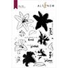 Altenew Inky Lily Stamp Set