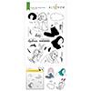 Altenew Linear Life: Daydreams Stamp & Die & Coloring Stencil Bundle