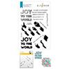 Altenew Joy To The World Typography Stamp & Die & Stencil Bundle