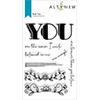 Altenew Bold You Stamp Set