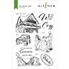 Altenew Cozy Winter Vibes Stamp Set