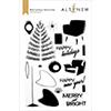 Altenew Mid-Century Festivities Stamp Set